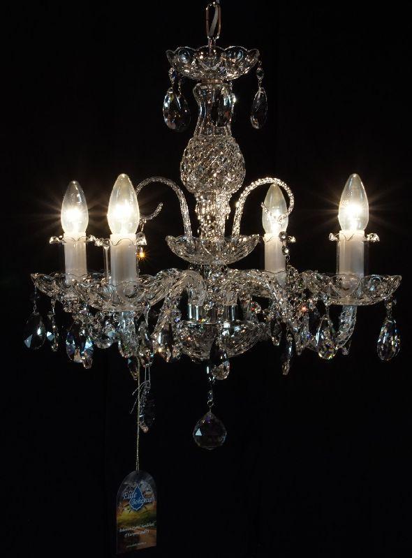 Tani żyrandol kryształowy do salonu pokoju sypialni - z kryształkami Swarovskiego
