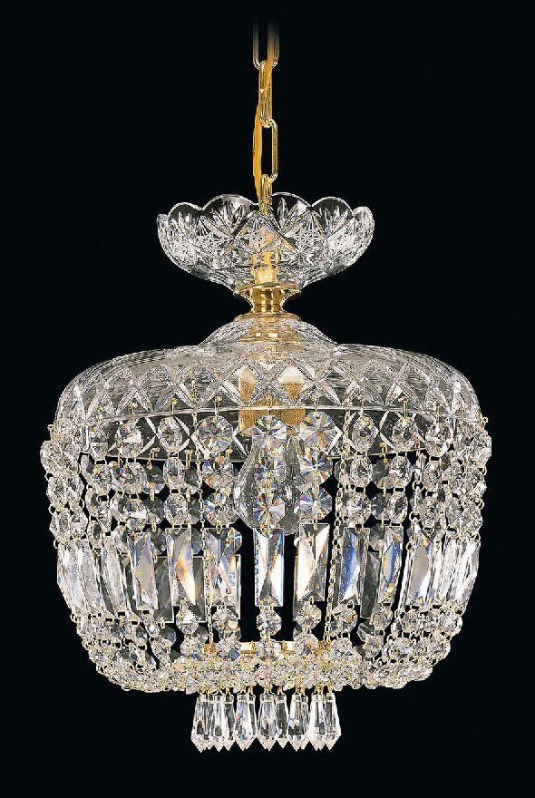 Ręcznie wykonany żyrandol kryształowy Royal Crystal - Swarovski