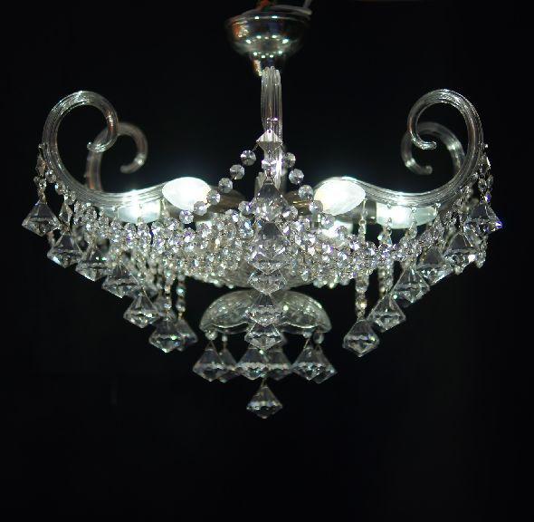Dizajnerski plafon (żyrandol)  Glamour - z kryształkami Swarovskiego
