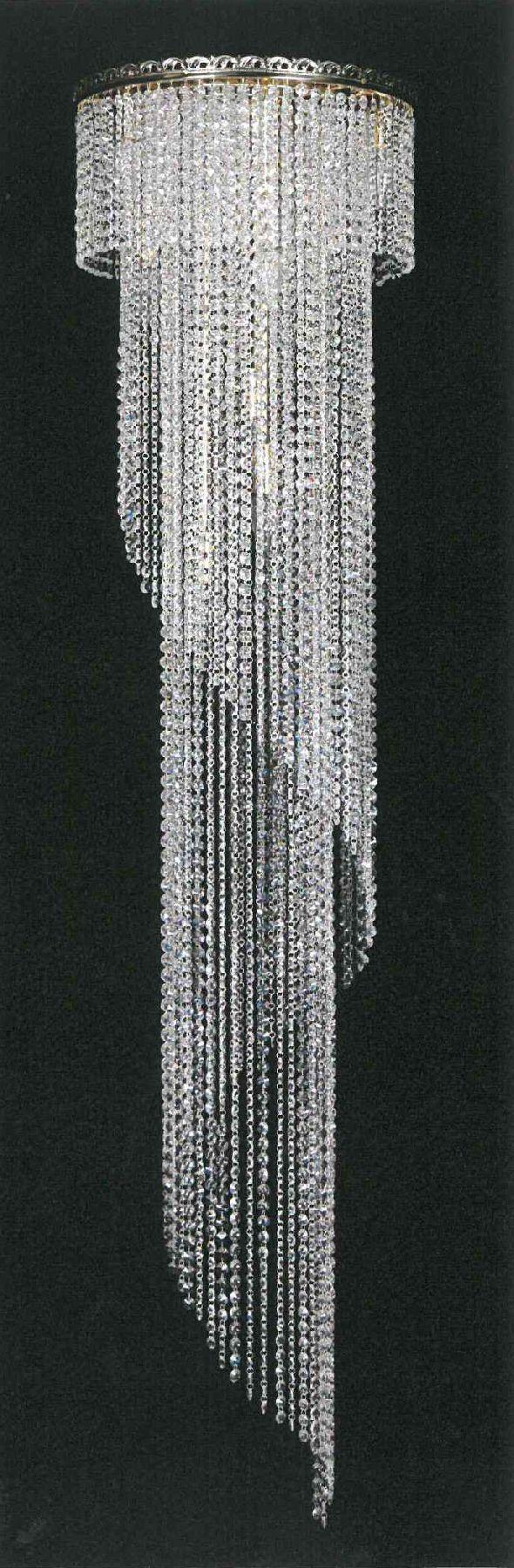 Nowoczesna lampa kryształowa Spitala - z kryształkami Swarovskiego
