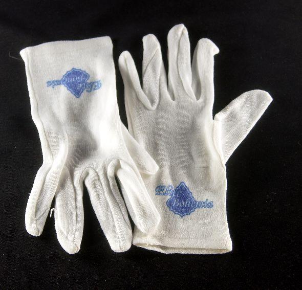 Rękawiczki bawełniane do czyszczenia lamp kryształowych